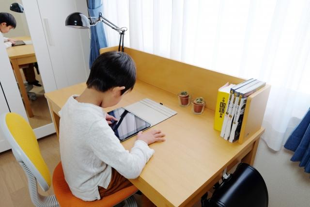 リフォーム、子ども、机、勉強机